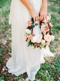 A gorgeous full flower crown: http://www.stylemepretty.com/little-black-book-blog/2015/04/07/rustic-elegant-provencal-wedding-inspiration/ | Photography: L'Artisan - http://artisan-photographe.fr/