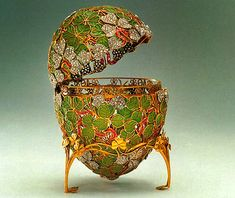 Russian Imperial Faberge eggs.