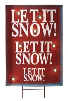Let It Snow light up sign  http://rstyle.me/n/tgipipdpe