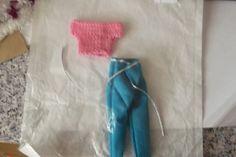 Handmade  Trouser Set Outfit for Barbie Dolls   (nannycheryloriginal) 1272 £3.50