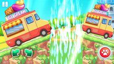 Racing Games For Kids - Ice Cream Truck Racing for Children - Cars For Kids Racing Games For Kids, Video Games For Kids, Ice Cream World, Childcare, Race Cars, Trucks, Drag Race Cars, Truck, Cars