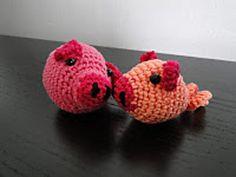 Ravelry: Little Pigs pattern by Ami Fan