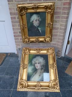 A beautiful pair pastel potrets around 1850 in original gilded frames and good condition. Discover more outstanding items from Johan Doomen's collection, a professional Belgian antique dealer, on Transferantique. Frames, Pastel, Pairs, The Originals, Antiques, Beautiful, Collection, Things To Sell, Antiquities