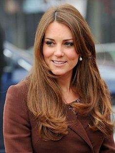 Kate Middleton bouncing waves hairstyles