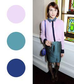 @Who What Wear - Ella Catliff   Lilac + Sea Green +Cobalt