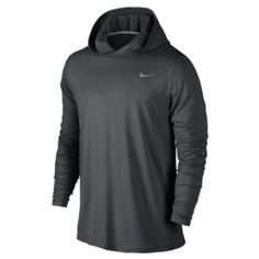 ceca1d5abc65 Amazon.com  Nike Men s Dri-Fit Touch Long Sleeve Hoodie  Clothing Pullover