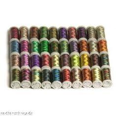 40 Spools Shading/Variegated Embroidery Machine Thread