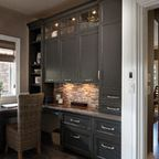 Jerome Village Lot 125 - transitional - home office - columbus - by Romanelli & Hughes Custom Home Builders