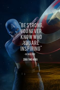 Inspirational Quotes about Strength : QUOTATION - Image : As the quote says - Description Stay with Llewellyn Cordier I'll take you to your promised Captain Quotes, Captain America Quotes, Captain America Tattoo, Avengers Quotes, Marvel Quotes, Superman Quotes, Avengers Story, Marvel Avengers, Positive Quotes