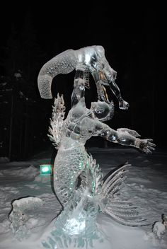 Posts about ice art championships written by alaskarella Snow Sculptures, Sculpture Art, Ice Art, Snow Art, Winter Images, Ice Ice Baby, Snow And Ice, Art Google, Creative Art