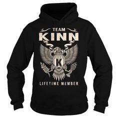 (Tshirt Popular) Team KINN Lifetime Member Last Name Surname T-Shirt Top Shirt design Hoodies Tees Shirts