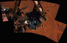 Stuart Rankin -Articulating Curiosity 2  Panorama of Curiosity images where Curiosity got in the way of pictures of Gale Crater's floor
