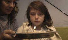 ¡El segundo a segundo del infierno! La insoportable vida de una niña en la guerra