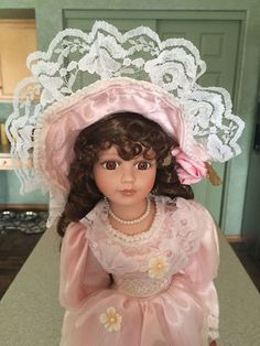 Cathay Collection Porcelain Doll - 20""