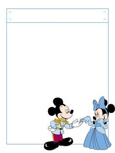 """Minnie Cindy with title box - Project Life Disney Journal Card - Scrapbooking. ~~~~~~~~~ Size: 3x4"""" @ 300 dpi. This card is **Personal use only - NOT for sale/resale** Logos/clipart belong to Disney. ***Click through to photobucket to see this this card with lots of different characters***"""