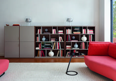 Full of character but with capacity for books and household items too, Canaletto by Mauro Lipparini, is a shelving system that approaches practicality with personality. #ligneroset #furniture #frenchdesign #design #furnituredesign #interiordesign #interiors #modern #interiorinspiration #furnitureshelving #shelvingdesign #bookcases #livingroom #livingroominspo
