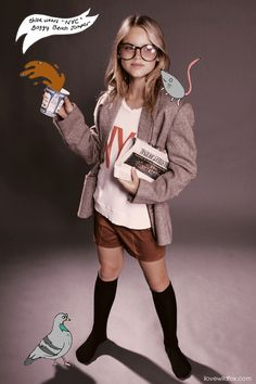 Love this lookbook design for Wildfox kids. fresh!