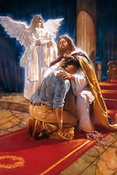 Stunning pictures of Jesus that show you who much He loves you and how beautiful He is. These images of Jesus Christ help you experience Him. Pictures Of Jesus Christ, Religious Pictures, Religious Art, Religious Paintings, Bible Pictures, Thomas Blackshear, Image Jesus, Christian Pictures, Saint Esprit