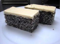 Raw Food Recipes, Sweet Recipes, Cake Recipes, Dessert Recipes, Cooking Recipes, Poppy Cake, Slovak Recipes, Markova, Sweet Cakes