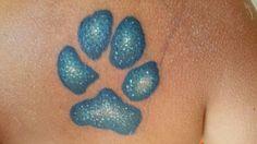 My beautiful Sienna paw print Cat Grooming, Pet Care, Dog Cat, Tattoo Designs, Stylists, Tattoos, Beautiful, Products, Tatuajes