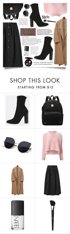 """""""Bez naslova #1662"""" by violet-peach ❤ liked on Polyvore featuring VIVETTA, Jaeger, NARS Cosmetics, Christian Dior and MAC Cosmetics"""