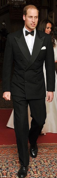 Prince William, on his wedding day.