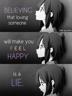 sad quotes, that can represent your feelings Sad Anime Quotes, Manga Quotes, A Silent Voice, Sad Pictures, Dark Quotes, Les Sentiments, Depression Quotes, Anime Life, Otaku Anime