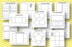 36 Editable Lapbook and Fold-It Templates by Amber Polk Learning Websites For Kids, Learning Tools, Interactive Learning, Interactive Notebooks, Lap Book Templates, Teacher Helper, Teaching Strategies, Teaching Ideas, Science Party