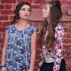Brooklyn and Bailey McKnight. Photography by Tween Fashion, Diva Fashion, Fashion Outfits, Fasion, Bailey Mcknight, Outfits For Teens, Cool Outfits, Brooklyn And Bailey, Best Friends For Life