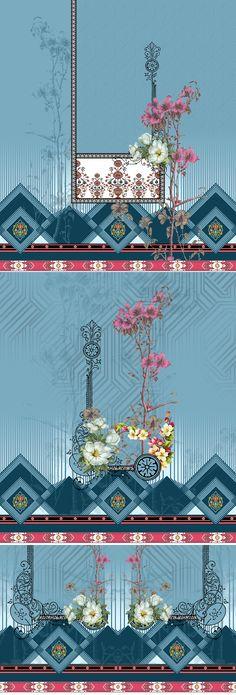Pattern Art, Pattern Design, Print Design, Background Tile, Background Patterns, Textile Prints, Textile Design, Design Seeds, Album Design