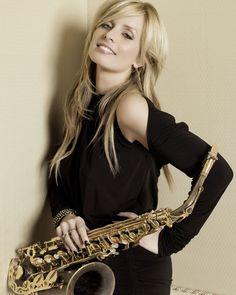 Dutch-born saxophonist Candy Dulfer