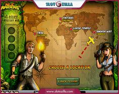 Relic Raiders free #slot_machine #game presented by www.Slotozilla.com - World's biggest source of #free_slots where you can play slots for fun, free of charge, instantly online (no download or registration required) . So, spin some reels at Slotozilla! Relic Raiders slots direct link: http://www.slotozilla.com/free-slots/relic-raiders