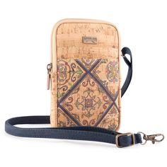 Kork Handytasche «Valencia» von CorkLane – Nachhaltige Handyhülle Smartphone, Valencia, Bags, Fashion, Vegan Handbags, Notebook Bag, Fanny Pack, Handmade, Leather