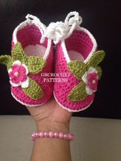 A personal favourite from my Etsy shop https://www.etsy.com/listing/510173986/crochet-pattern-baby-christening-shoes