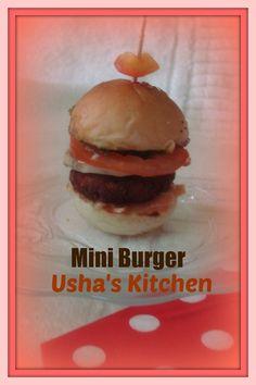 Mini Burger recipe - Foodista.com