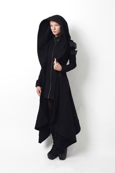 EDITOR'S NOTES  The Avant Long Coat is long, warm, and striking. Adorned with designer  metal work, and hand stitched details, this iconic slim-fitting coat is a  timeless piece.    FEATURES      * Full length winter coat     * Slim-fitting silhouette leather detail     * Extra large h