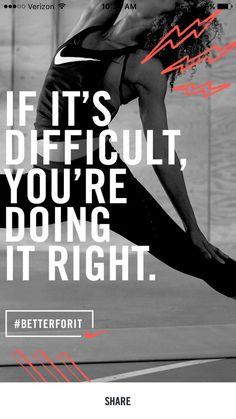Nike Training Club motivation