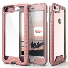 iPhone 7 Case, Zizo ION w/ [Tempered Glass iPhone 7 Screen Protector] Shockproof #ZizoValue