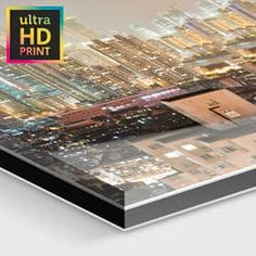 Foto hinter Acrylglas - ultra-HD-Abzug