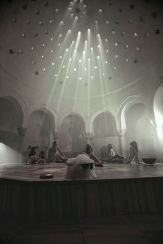 Turkish Bath Hammam Tour, Istanbul daily city tours, Explore Turkish Bath Hammam, Including Scrubbing, Peeling and bubbles bath Spa Plan, Dome Ceiling, Turkey Travel, Home Design, Beams, Hotels, Culture, How To Plan, World
