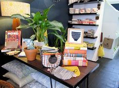 Inside the Skinny laMinx shop at 201 Bree street, Cape Town.
