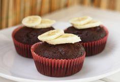 Schoko Bananen Muffins-vegan