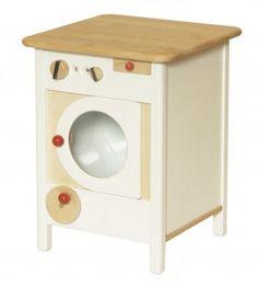 Elegant Freistehender Waschmaschine f r Kinderk chen Einzelelement in Wei