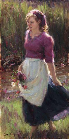 """Summer Blossoms"" artwork of Bryce Cameron Liston"