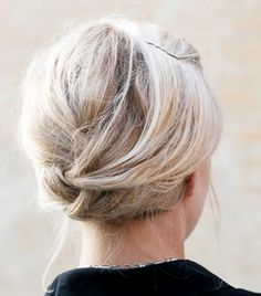 The Coolest+Updo+Ideas+for+Short+Hair+via+@byrdiebeauty