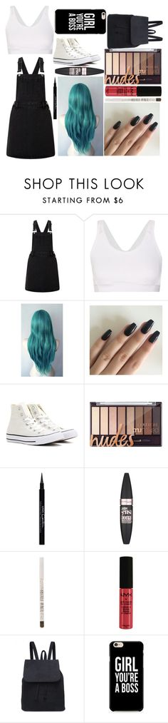 """""""Alicia: August 22, 2016"""" by disneyfreaks39 ❤ liked on Polyvore featuring Lipsy, adidas, Converse, Givenchy, Maybelline, Topshop and NYX"""