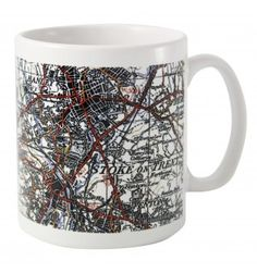 1945 - 1948 New Popular Edition Map Mug | Mugs | Exclusively Personal