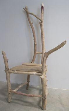 Driftwood Childs Chair Nestling. $245.00, via Etsy.