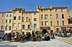 The Streets of Aix-en-Provence~ France