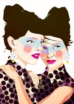 Mamzelle Poppy + Colagene, Illustration Clinic